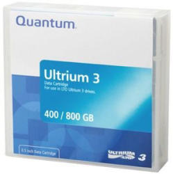 Quantum LTO-3 Ultrium 3 400/800GB Data Cartridge (MR-L3MQN-01)