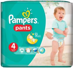 PAMPERS Scutece Active Baby Pants 4 Carry Pack 24 buc (81480086)