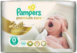 PAMPERS Scutece Premium Care 0 New Born Carry Pack 30 buc (81378876)