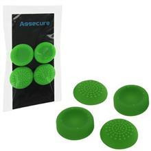 Assecure Silicone Thumb Grips Concave And Convex Green Ps4