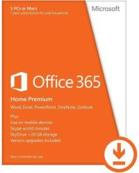 Microsoft Microsoft Office 365 Home, 1 an, 5 PC, All Languages, Licenta Electronica, ESD (6GQ-00092)