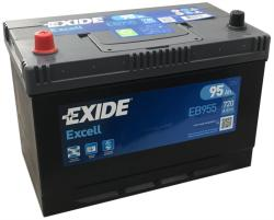 Exide Excell 95Ah 720A left+ Asia (EB955)