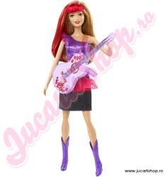 Mattel Barbie in Rock 'N Royals - Ryana cu chitara (CKB63) Papusa Barbie