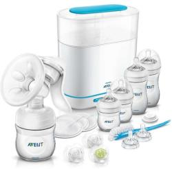 Philips Avent Set incepator Natural 21 piese All in One 0-6 luni, Philips Avent