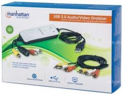 MANHATTAN USB Audio/Video Grabber 162579 (162579)