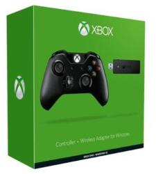 Microsoft Controller Xbox One + Wireless Adapter for Windows 10