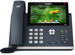 Yealink SIP-T48S Wired handset 16lines LCD Black IP phone (T48S)