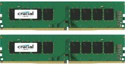 Crucial Memorie Crucial 8GB DDR4 2400MHz CL17 1.2v Dual Channel Kit (CT2K4G4DFS824A)