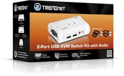 Trendnet Switch KVM TRENDnet TK-209K 2-Porturi (TK-209K)