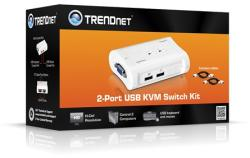 Trendnet Switch Kit KVM TK-207K 2Porturi, USB (TK-207K)