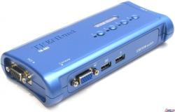 Trendnet Switch Kit KVM TK-407K 4 Porturi, USB (TK-407K)