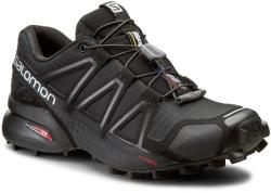 Salomon Pantofi SALOMON - Speedcross 4 W 383097 20 V0 Black/Black/Black Metallic Damă