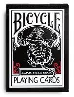 Ellusionist Bicycle Black Tiger Red