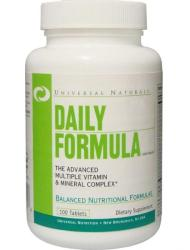 Universal Nutrition Daily Formula - 100 comprimate