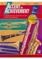 Accent On Achievement: Trombone - Book 2 (Book/CD)