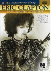 Eric Clapton: The Early Years - Guitar Signature Licks DVD