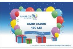 Hands On Education Card cadou 100 RON - Hands On Education (HOE09001)
