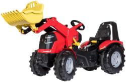 Rolly Toys Tractor cu pedale Rolly Toys, X-Trac Premium cu incarcator frontal (651009)