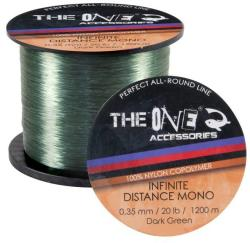 The One Fir monofilament THE ONE Infinite Distance Dark Green 1200m 0, 35mm (EF. 31720035)
