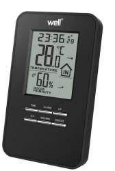 Well Termometru digital de interior Well Mood, functie alarma, umiditate, temperatura