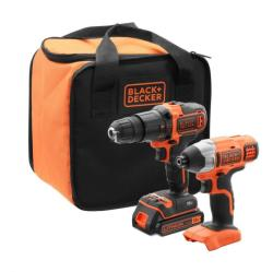 black&decker Kit 18V Combo (BCK21S1S) (BCK21S1S)