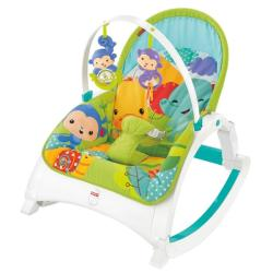 Fisher-Price Balansoar 2 in 1 Newborn to Toddler Rainforest - Fisher-Price (BCD28)