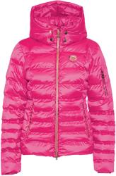 Sportalm Kyla RR Womens Jacket with Hood and Fur Neon Pink 34 (8822531347434)