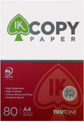 IK Hartie IK Copy Paper, A4, 80g/mp, 500 coli/top
