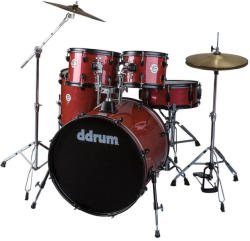 DDRUM D2 Player Red Pinstripe (D2P-RPS)