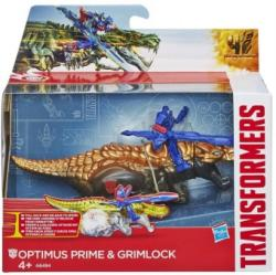 Hasbro Transformers 4 Age of Extinction Dino Sparkers Optimus Prime si Grimlock A6494