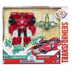 Hasbro Transformers Activator Combiners Sideswipe and Great Byte C0905
