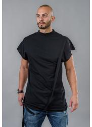 BAZA Men's Long T-Shirt with Ribbon Row BM514