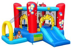 Happy Hop Saltea gonflabila Buble Play Center 4 in 1 Happy Hop (9214)