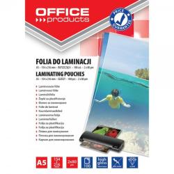 Office Products Folie pentru laminare A5, 80 microni 100 buc/top OFFICE PRODUCTS (5963)