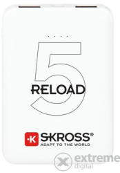 SKROSS Power bank Skross Reload5 5Ah, cablu USB/microUSB, 2 iesiri (1.400120)