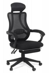 CHAIRS-ON Scaun de birou ergonomic Office 927 din stofa cu suport de picioare (OFF927)