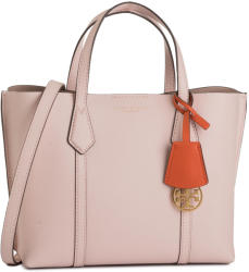 Tory Burch Geantă TORY BURCH - Perry Small Triple-Compartment Tote 56249 Shell Pink 652