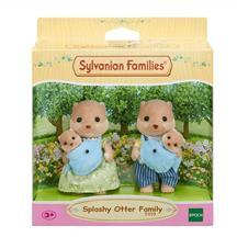 Sylvanian Families Jucarie Sylvanian Families Splashy Otter Family
