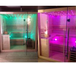 SuperSpa Sauna Traditionala Ws-1102C, Superspa, Pin Finlandez/Alb, 4 Locuri, 220V~240V / 50~60Hz, 380V/50Hz, Incalzitor (WS-1102C)