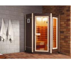 SuperSpa Sauna Cu Infrarosii Ws-120Jd, Superspa, Pin Finlandez, Radio Fm, Conector Pentru Cd (WS-120JD)