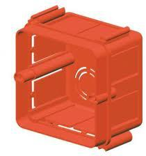 Gewiss SQUARE FLUSH-MOUNTING BOXES - 2 moduleSECTIONAL - HALOGEN FREE - 70x70x50 (GW24231)