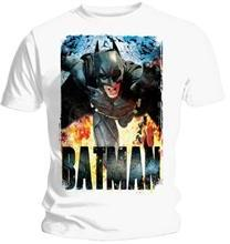 Neca Tricou The Dark Knight Rises Running Flames Marime Xl
