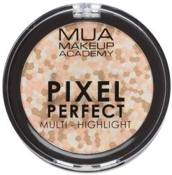 MUA Makeup Academy Paleta iluminatoare Pixel Perfect Multi Highlight Powder MUA Makeup Academy Professional Professional, Moonstone Shine