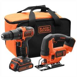black&decker Kit 18V Combo (BCK22S1S) (BCK22S1S)