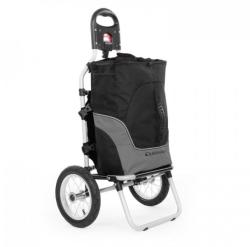 DURAMAXX CARRY GRAY, GEAMANTAN DE MANA SAUBICICLETĂ, MAX. Capacitate 20 KG, alb-negru (BCT1-Carry Grey)
