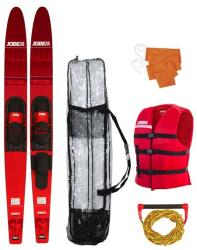Jobe Allegre 67'' Combo Waterskis Package Red (208817004)