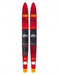Jobe Allegre Combo Waterskis Red 59'' (203318003-59-INCH)