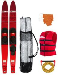 Jobe Allegre Combo Waterskis Package Red - 59'' (208818001)
