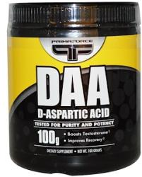 PrimaForce DAA D-Aspartic Acid 100 g