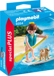 playmobil Special Plus - Surfer si catel (9354)